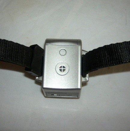 Citronella Collar showing Microphone