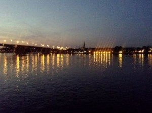 Mainz at night